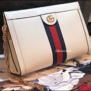 Gucci Ophidia Small Leather Shoulder Bag❤️